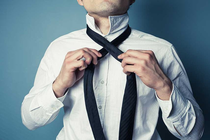 How to Tie a Tie for a Virtual interview